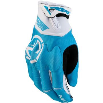 Moose Racing S20 MX1 Motorbike Motorcycle Offroad MX Gloves Blue - Large